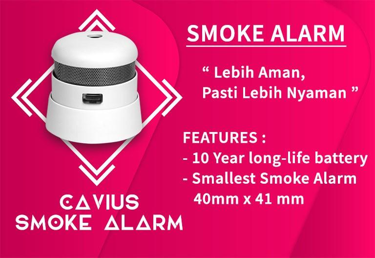 CAVIUS SMOKE ALARM